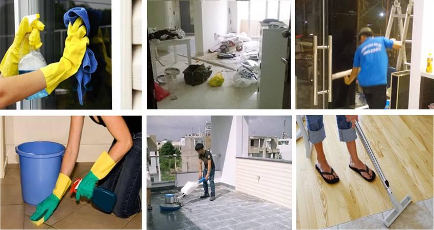 Dịch vụ dọn dẹp nhà cửa tại TPHCM giá rẻ