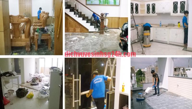 Dịch vụ vệ sinh nhà ở Bình Dương