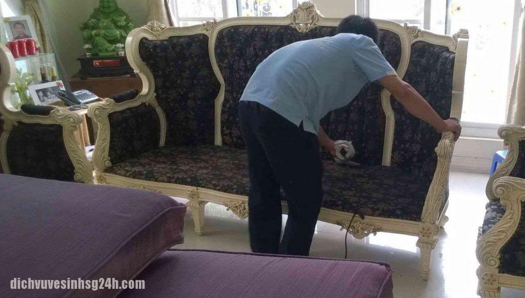 vệ sinh sofa tại nhà Hà Nội