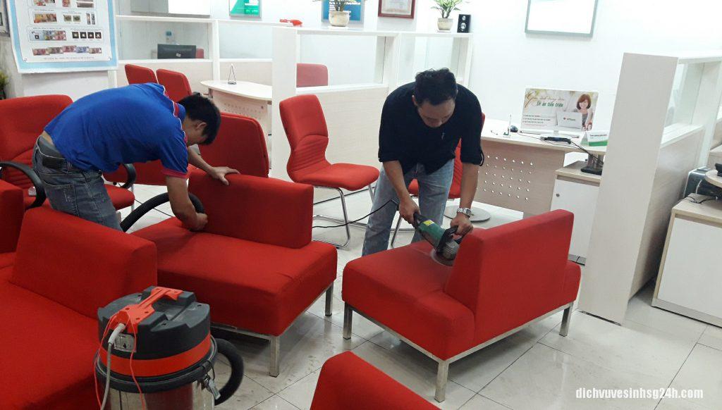 Top dịch vụ giặt ghế sofa tại tphcm uy tín