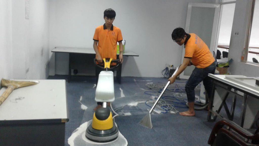 Dịch vụ giăt thảm tại Hà Nội giá rẻ
