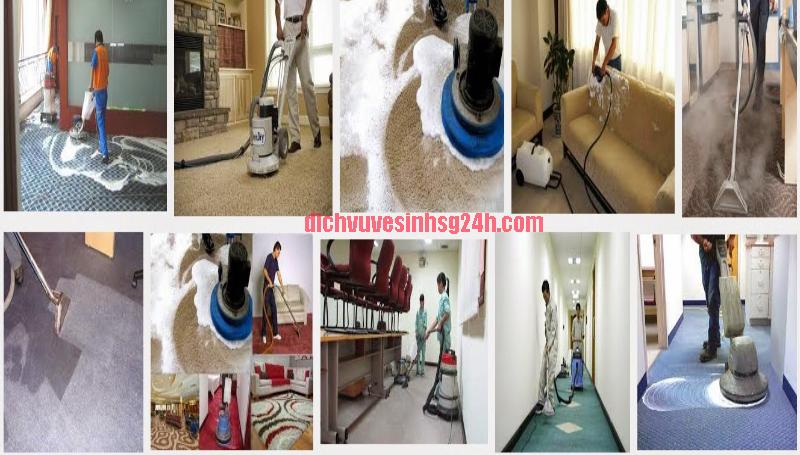 Dịch vụ giặt thảm tại nhà Hà Nội