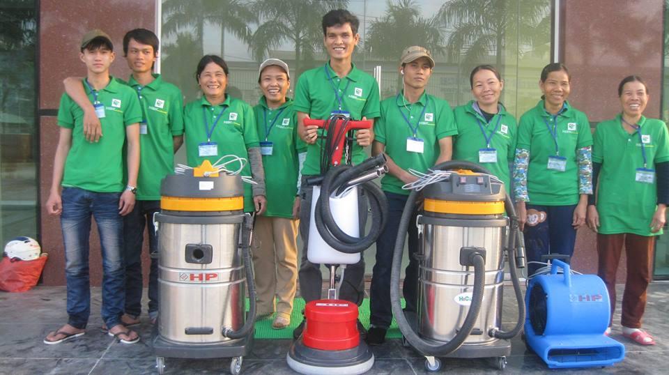đội vệ sinh công nghiệp tại Hà Nội