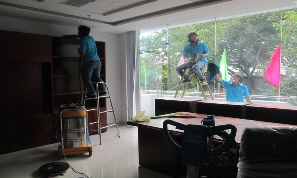 Dọn vệ sinh nhà cửa tại Hà Đông Hà Nội