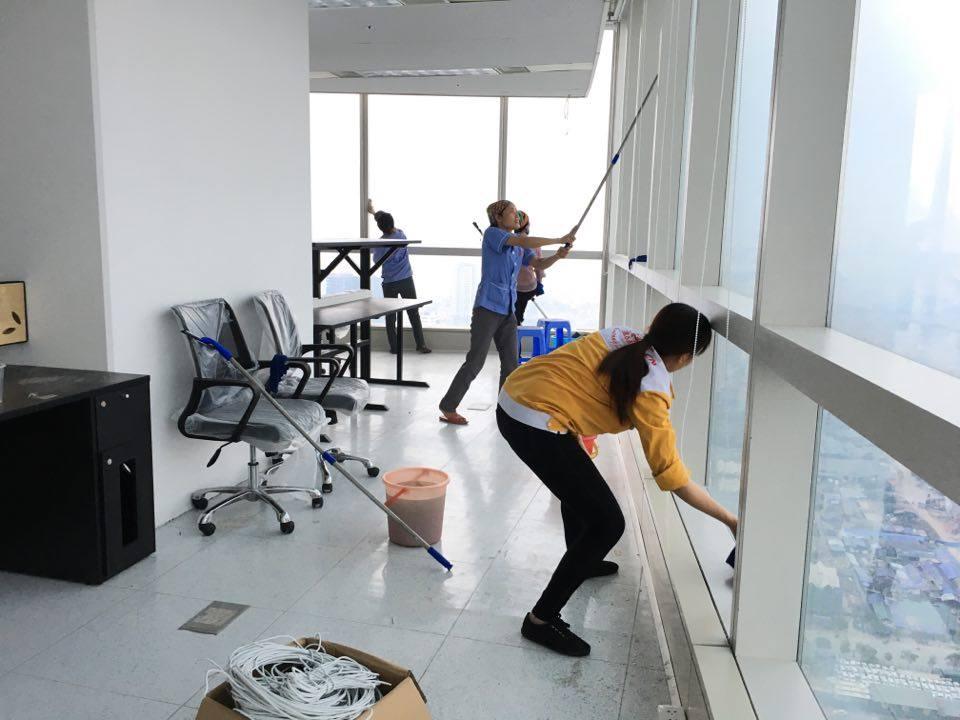 Dịch vụ vệ sinh nhà cửa tại quận Hai Bà Trưng