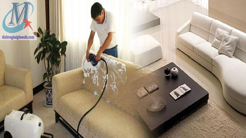 Dịch vụ giặt ghế sofa tại Quận Hoàng Mai