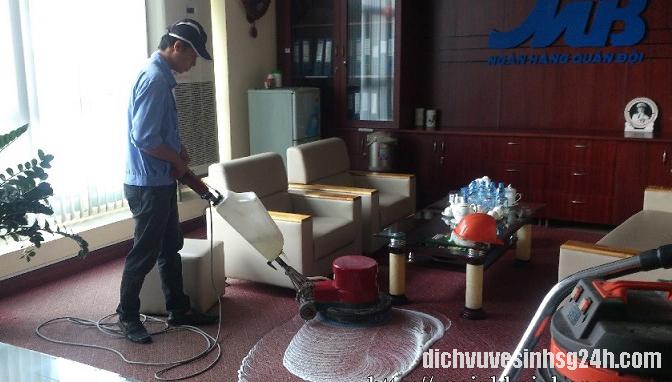 Dịch vụ giặt thảm huyện Bình Chánh