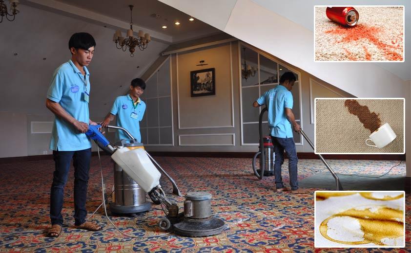 Dịch vụ giặt thảm quận Thanh xuân