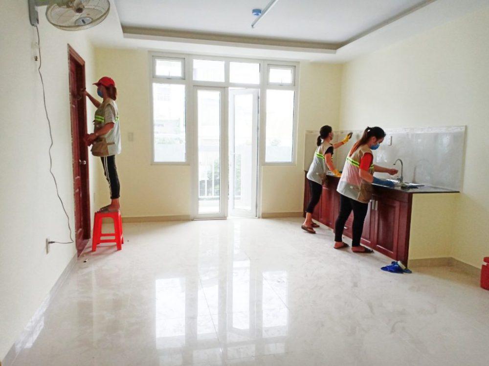 Dọn vệ sinh nhà cửa tại quận 4 tphcm