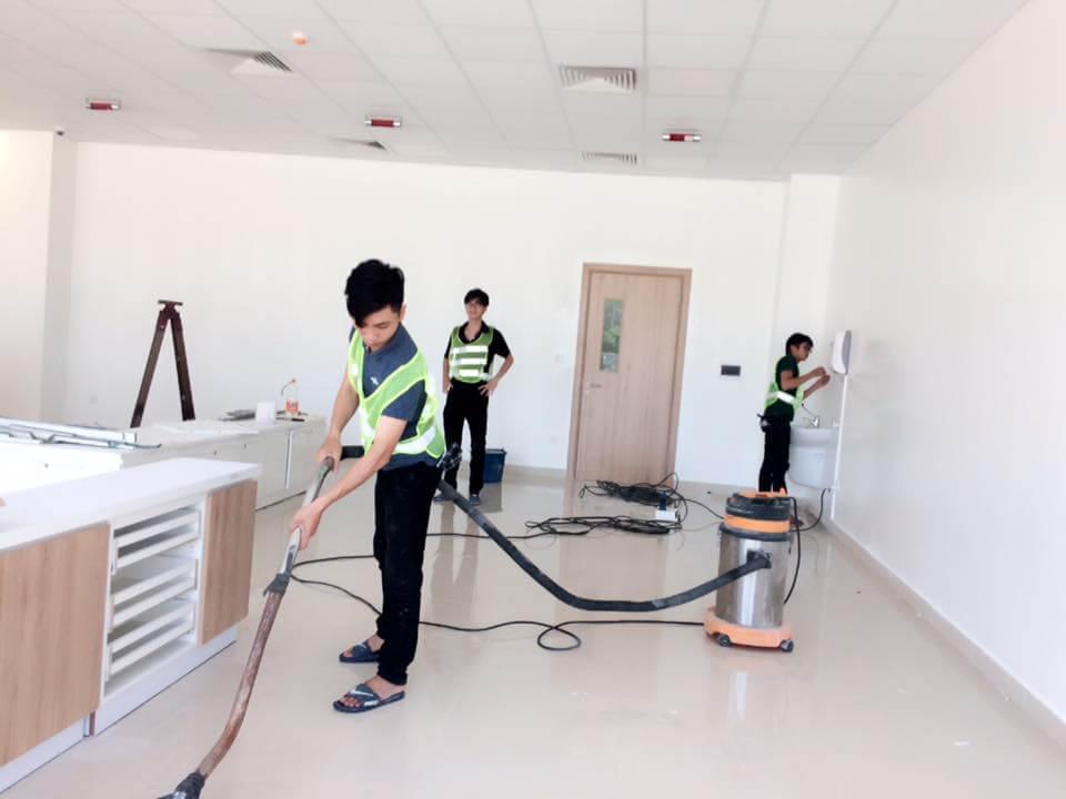 Dịch vụ vệ sinh nhà cửa quận 12