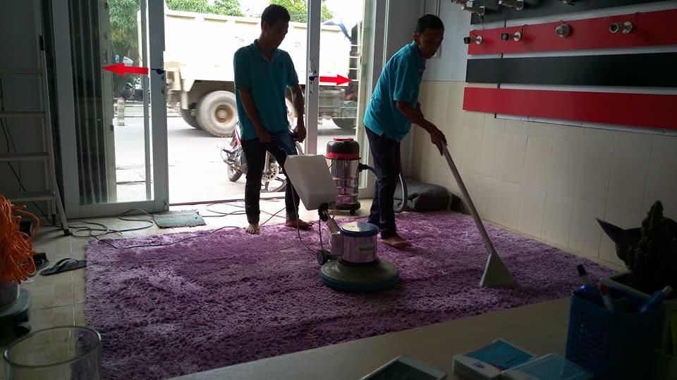 Dịch vụ giặt thảm tại quận 12 tphcm