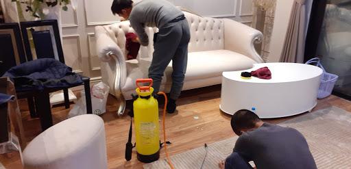 Vệ sinh sofa tại nhà tphcm ( sài gòn)