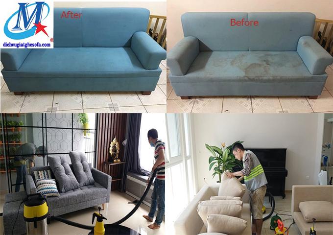 Giặt ghế sofa tại quận 8 Tphcm