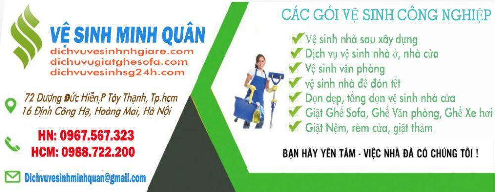 Dịch vụ vệ sinh nhà giá rẻ Hà Nội