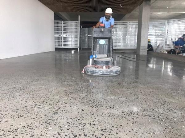Dịch vụ đánh bóng sàn bê tông Hà Nội