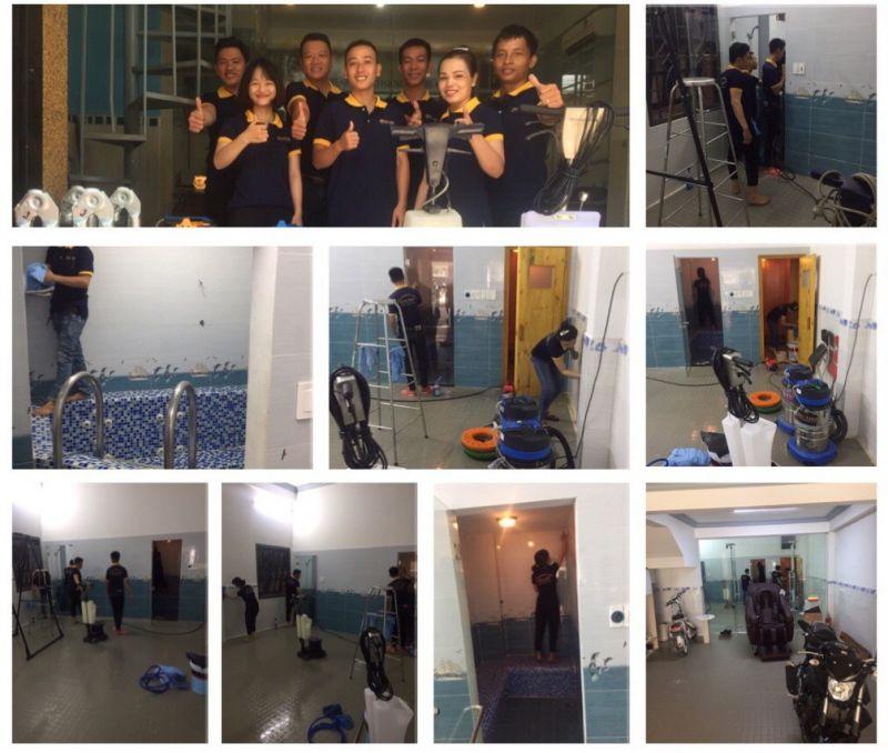 Dịch vụ vệ sinh nhà cửa tại Hà Nội