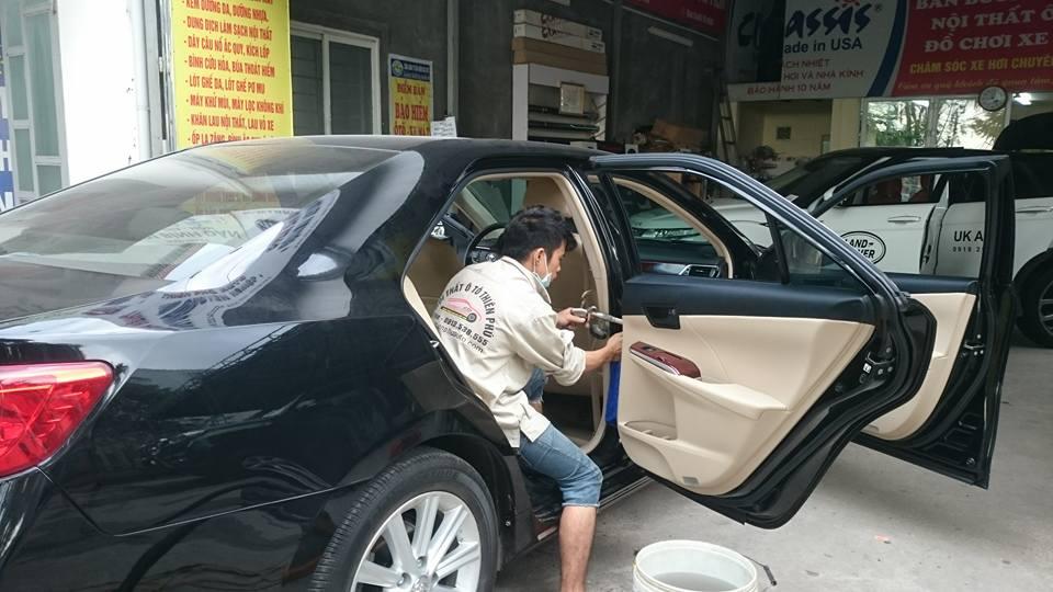 Dịch vụ giặt ghế ô tô tại Hà Nội
