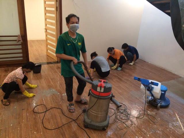 Dịch vụ vệ sinh nhà cửa Quảng Ninh