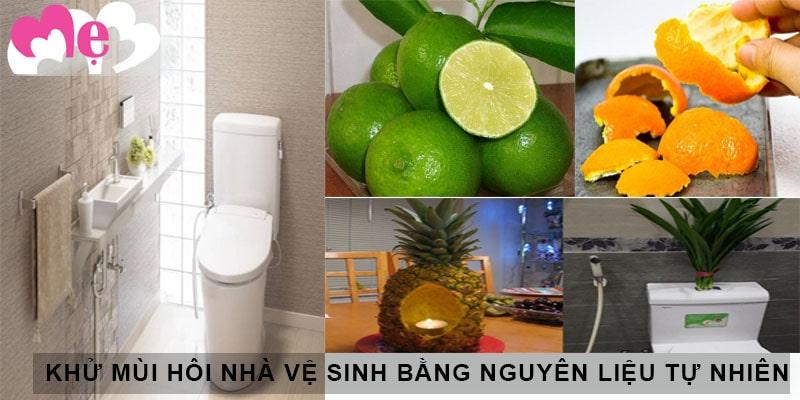 Cách khử mùi hôi trong nhà