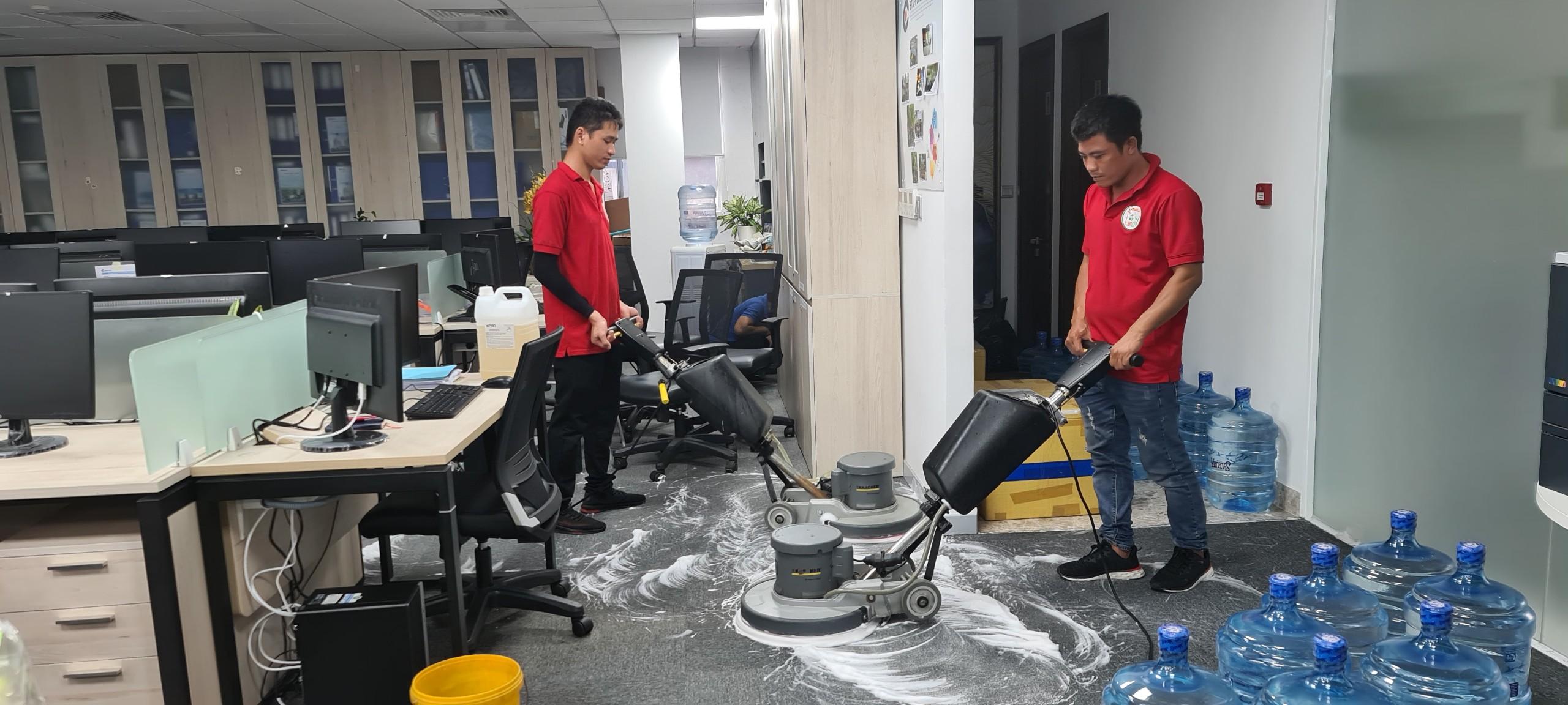 Dịch vụ Giặt thảm văn phòng tại tphcm