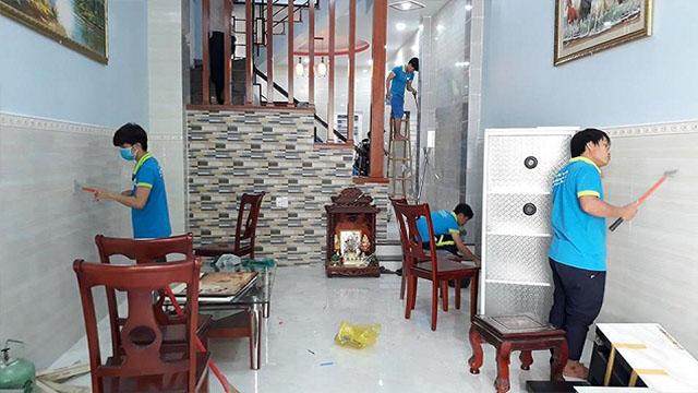 Dọn văn phòng theo giờ Hà Nội