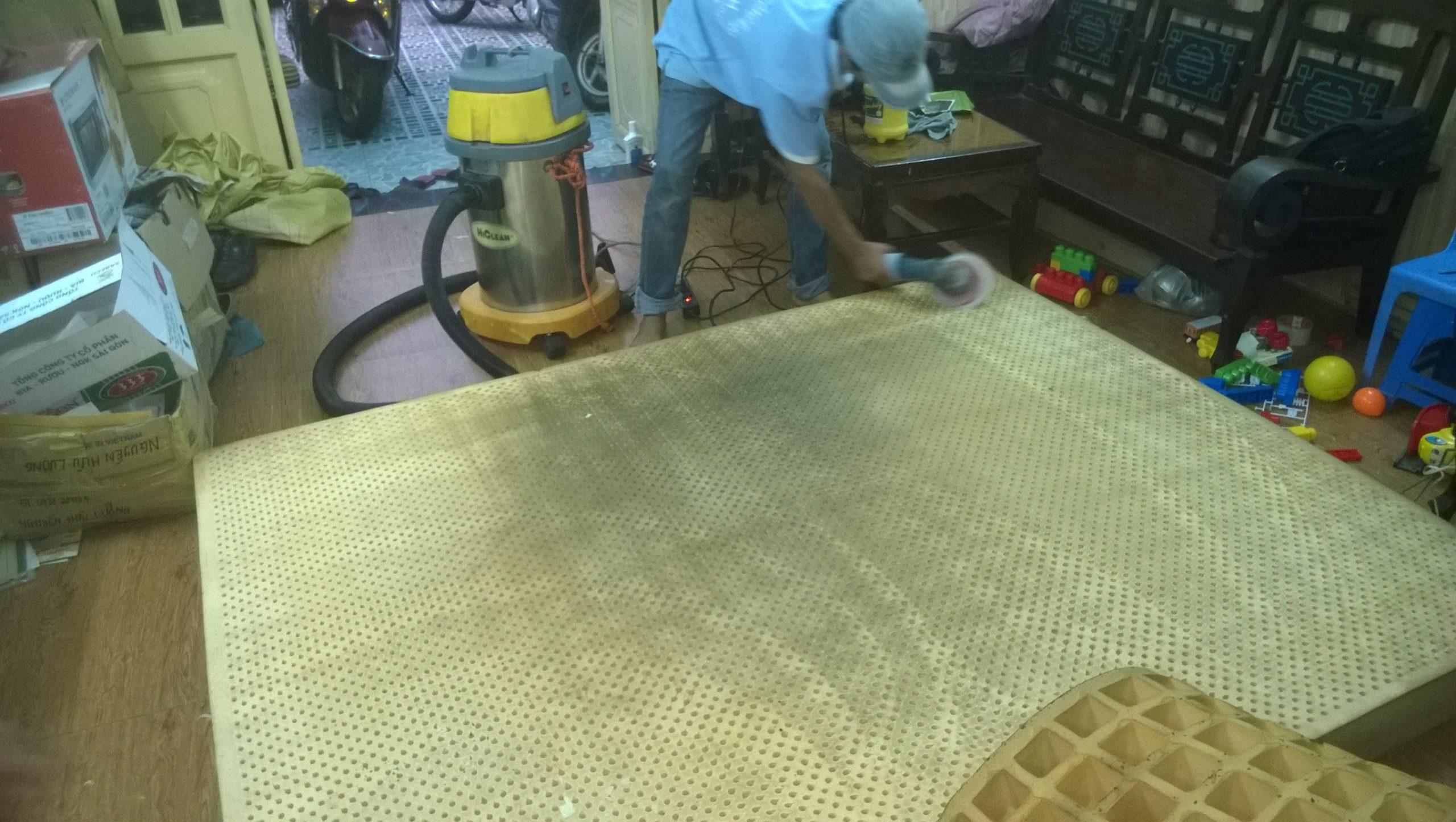 vệ sinh nệm tphcm